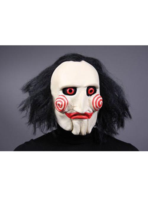 maske saw halloween grusel film karneval kost m psycho ebay. Black Bedroom Furniture Sets. Home Design Ideas