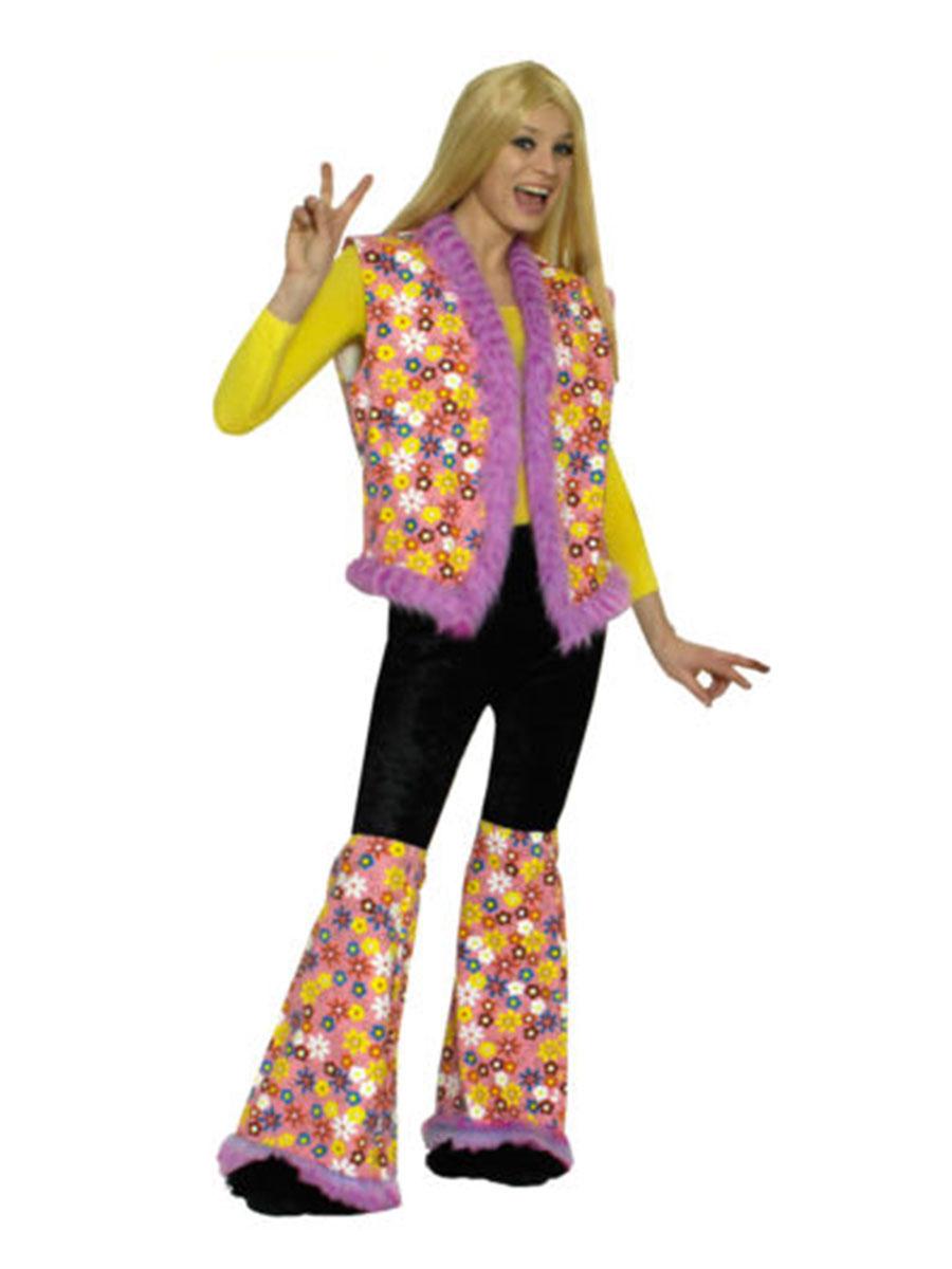 hippie herzchenschlag pl schrand damen karneval kost m ebay. Black Bedroom Furniture Sets. Home Design Ideas