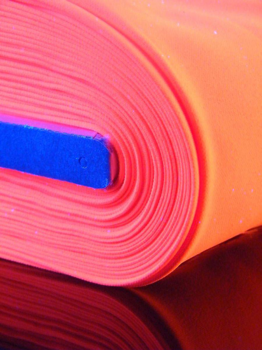 1lfm Schwarzlicht Stoff Burlinton Polyester Neon Pink