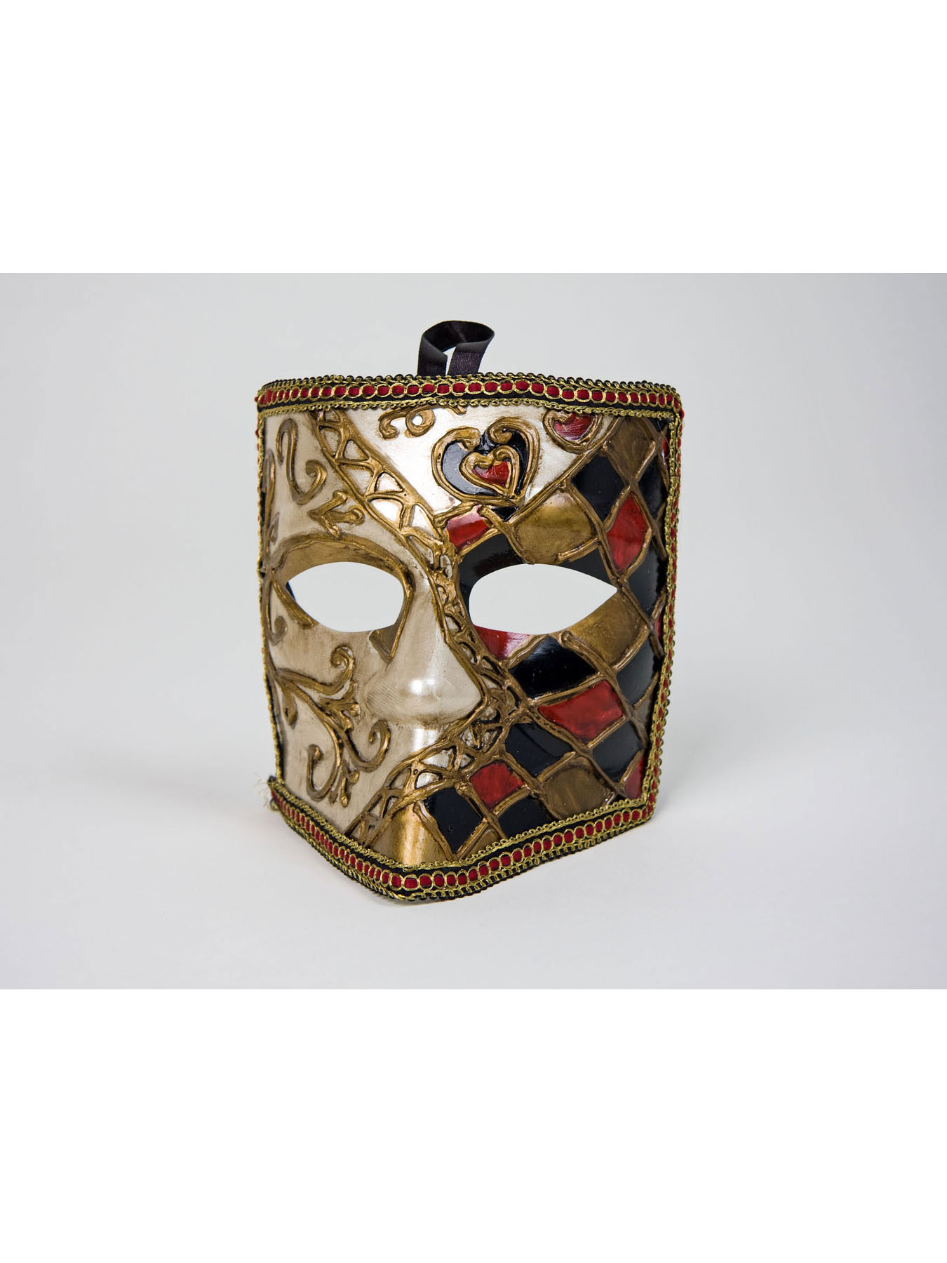 Prinzessvisier weiß Venezianische Maske Karnevalmaske Faschingsmaske