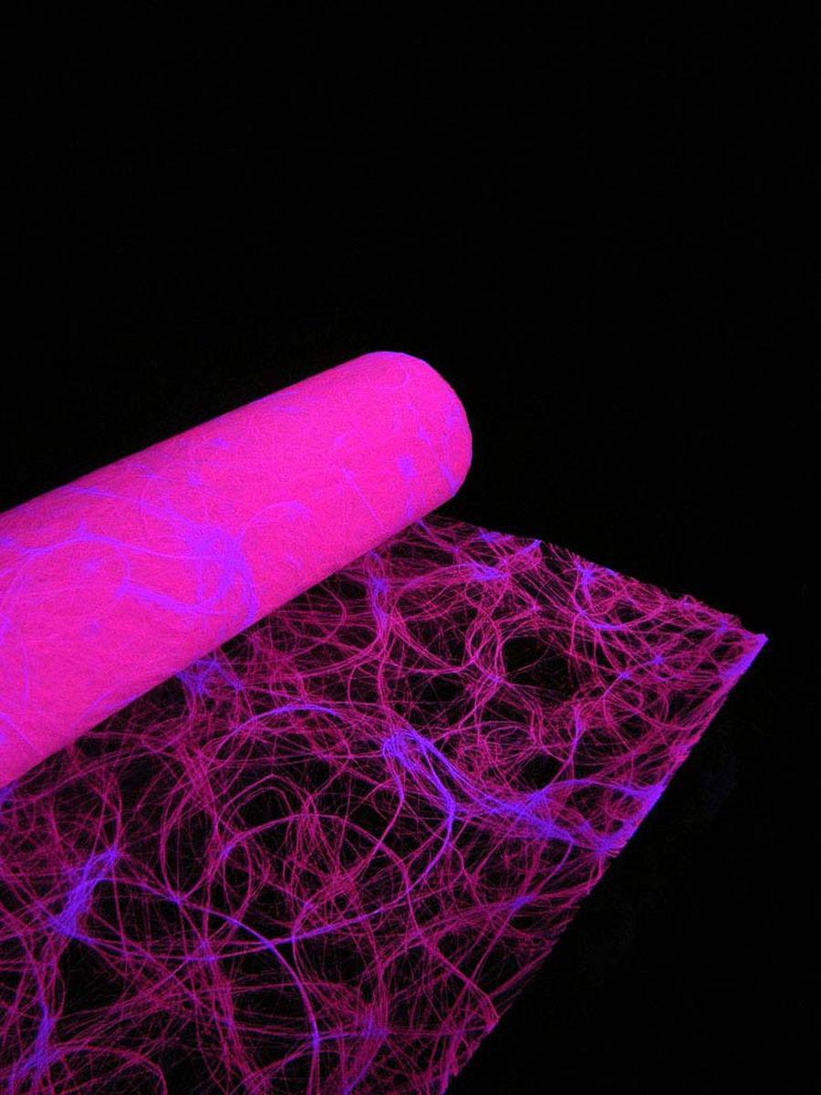 1lfm Schwarzlicht Dekovlies Grob 60cm Neonpink