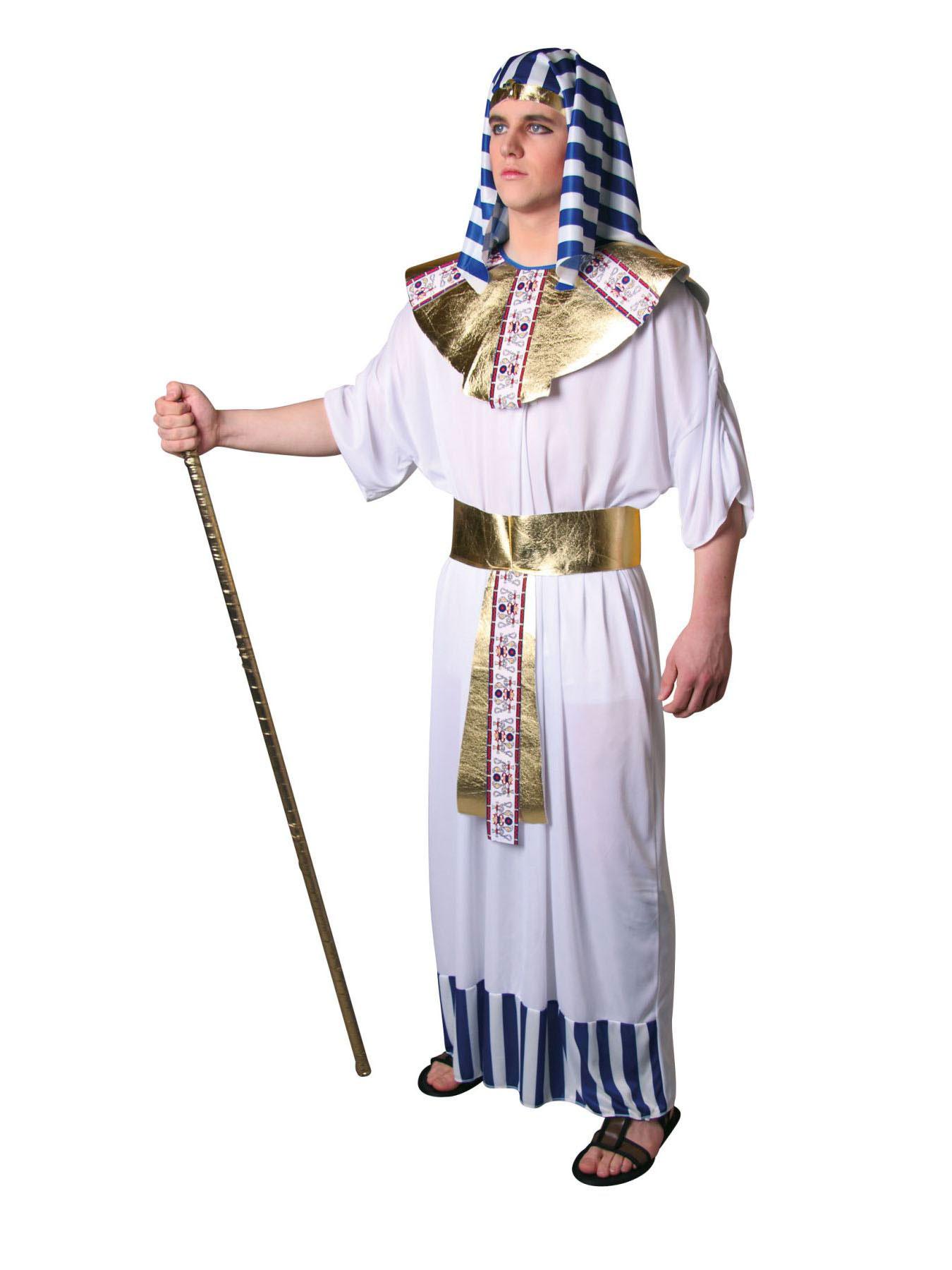 pharao kost m karneval gypten fasching herrscher amun ebay. Black Bedroom Furniture Sets. Home Design Ideas